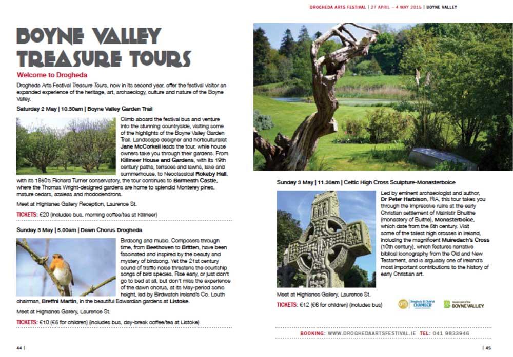 Boyne Valley Garden Tour May 2nd 2015
